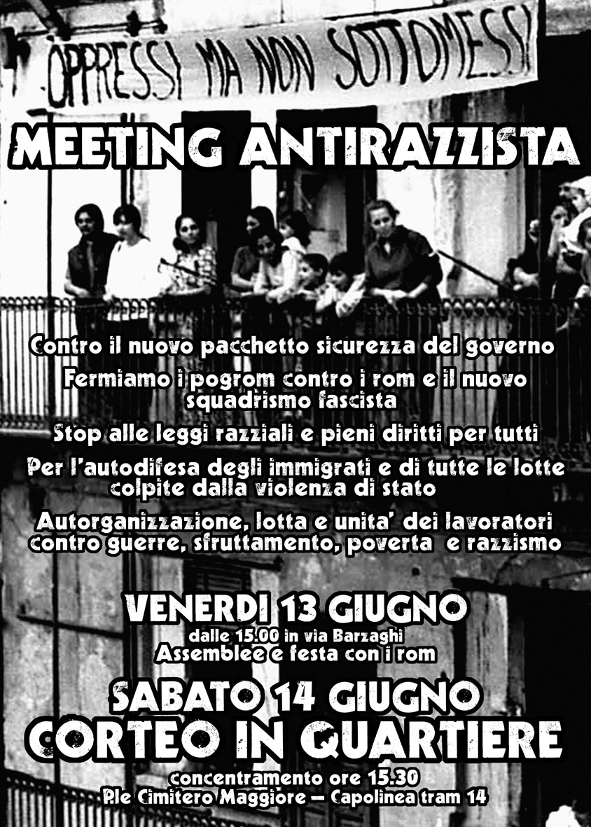 Meeting antirazzista